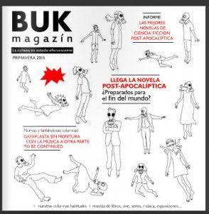He coordinado la revista Buk Magazín