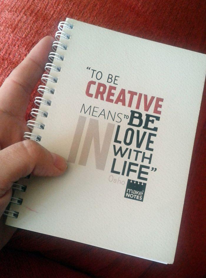 libretacreativa Libretas: ¿son imprescindibles para escribir?