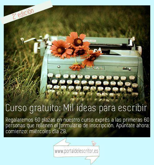 anuncio curso mil ideas