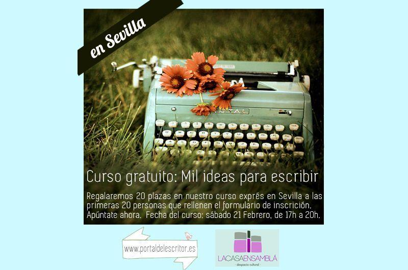 anuncio curso mil ideas Sevilla ancho