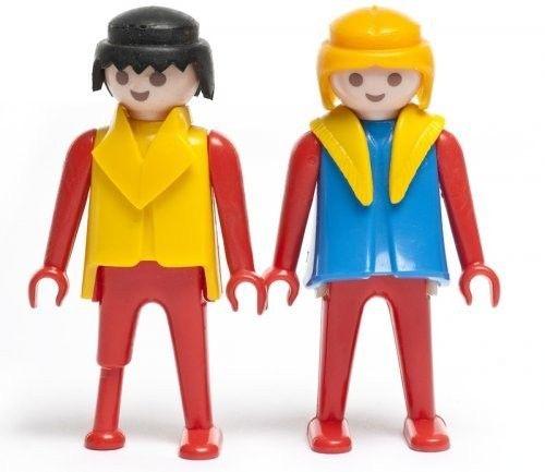 pareja-de-1976 Personajes y diálogos: guía básica del lenguaje no verbal