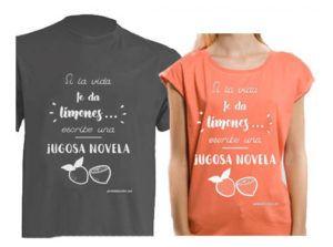 camisetas-jugosa-novela-hombre-y-mujer-300x223 22 regalos originales para escritores/as