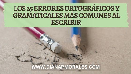Post 25 errores ortográficos