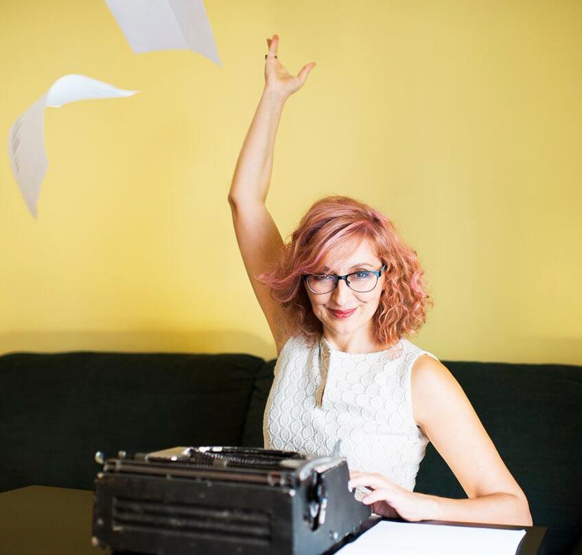Diana P. Morales, escritora y profesora de escritura